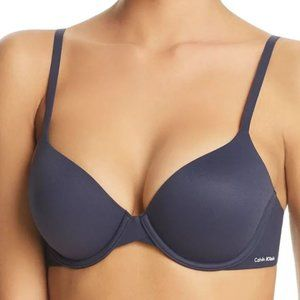 NWT! Calvin Klein Perfectly Fit T-Shirt Bra Navy